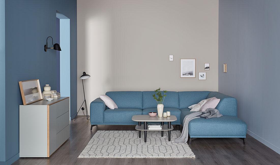 einrichtung und raumwirkung sch ner wohnen farbe. Black Bedroom Furniture Sets. Home Design Ideas