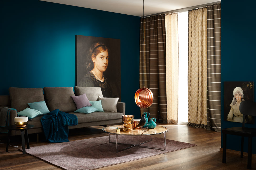 die farbe blau sch ner wohnen farbe. Black Bedroom Furniture Sets. Home Design Ideas