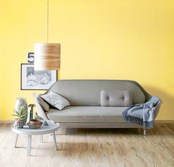 Die Farbe Gelb Schoner Wohnen Farbe