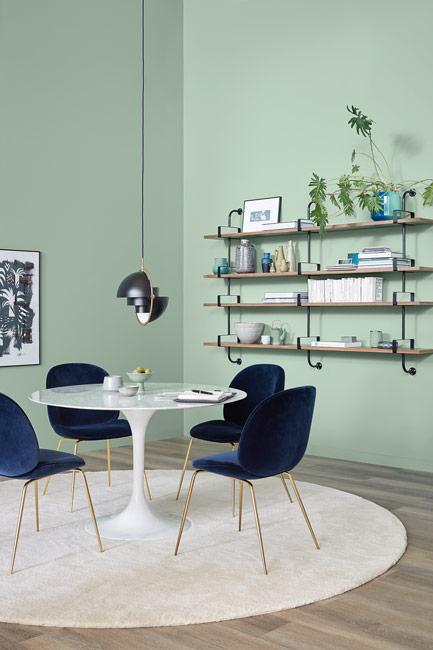 Wandfarbe Moosgrün die farbe grün | schÖner wohnen farbe
