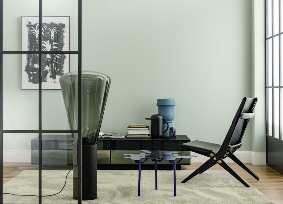 die farbe gr n sch ner wohnen farbe. Black Bedroom Furniture Sets. Home Design Ideas