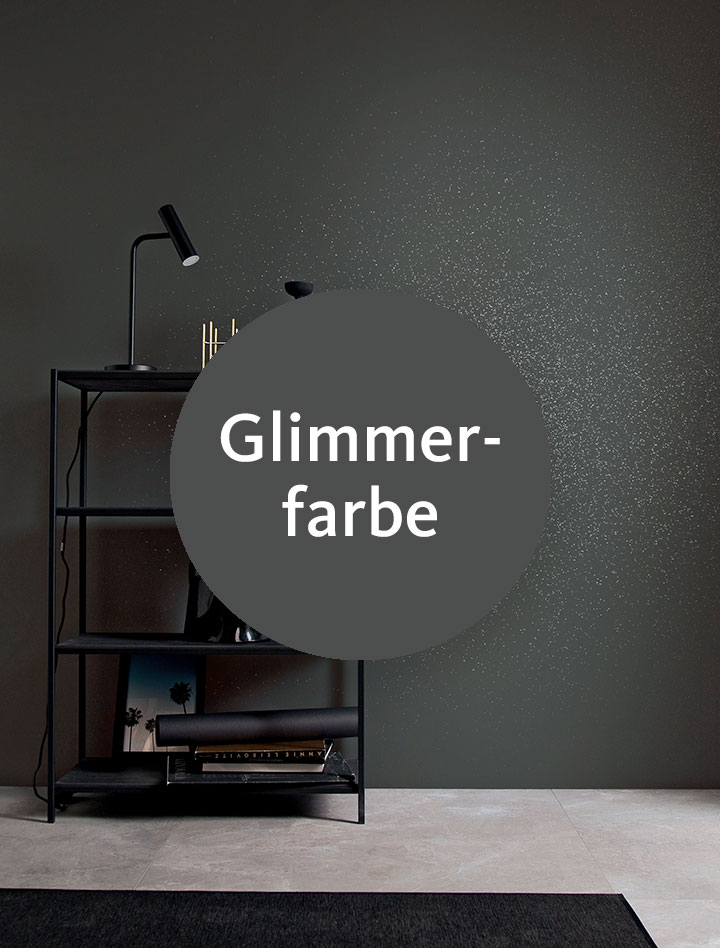 Glimmerfarbe-Mix