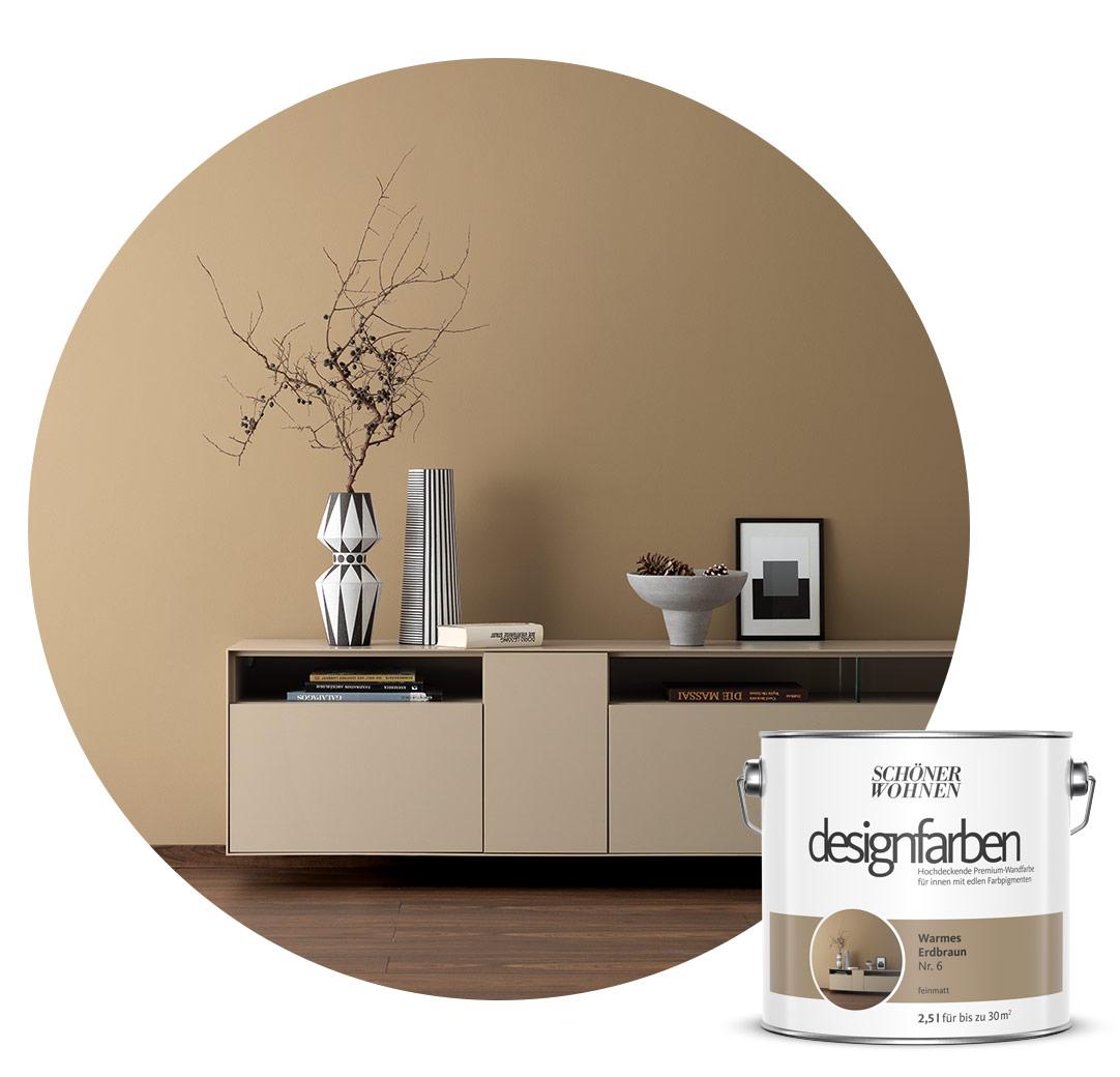 Farbe Designfarbe Braun Schoner Wohnen Kollektion