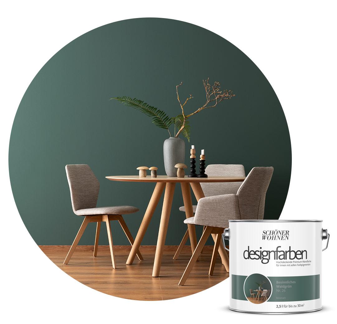 gr nt ne sch ner wohnen farbe. Black Bedroom Furniture Sets. Home Design Ideas