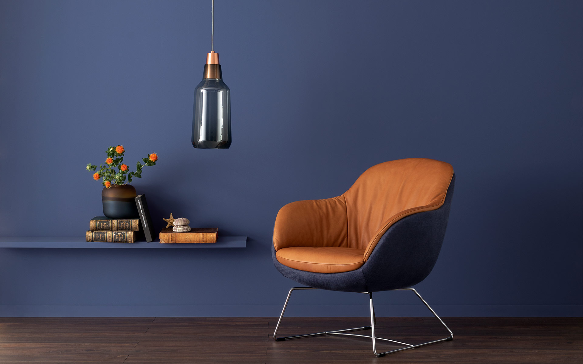 Blautone Schoner Wohnen Farbe