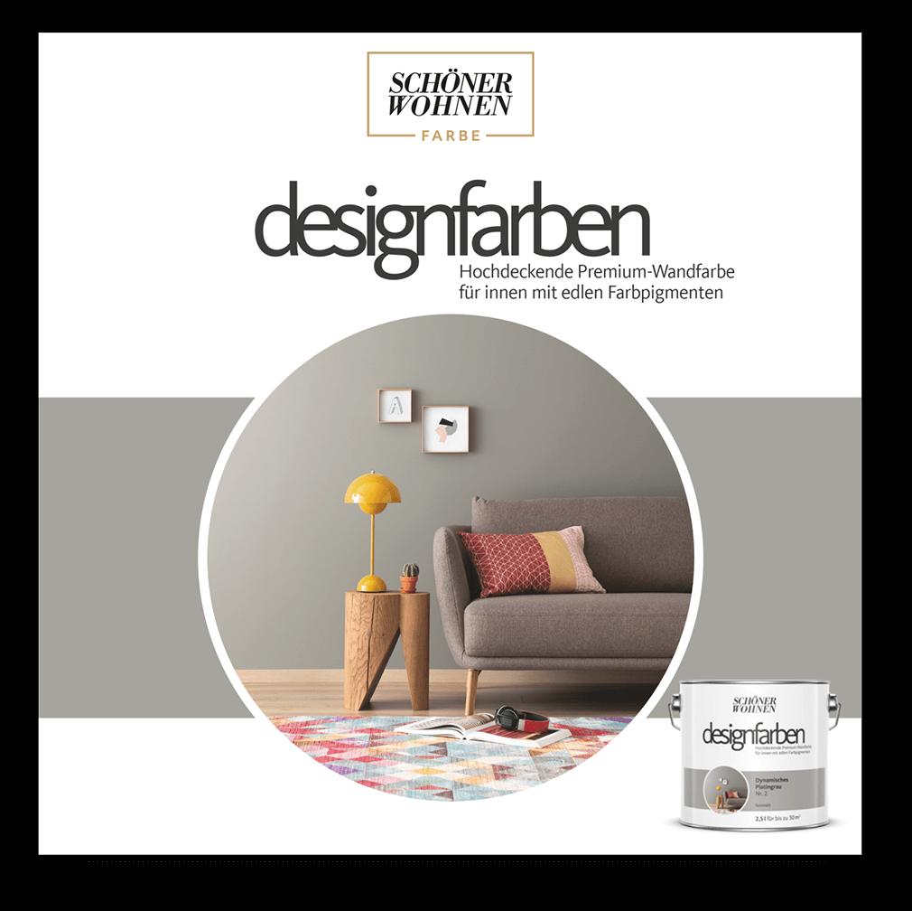 die sch ner wohnen designfarben sch ner wohnen farbe. Black Bedroom Furniture Sets. Home Design Ideas