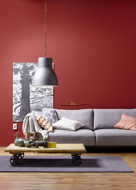Schlafzimmer In Trendfarbe Amarena