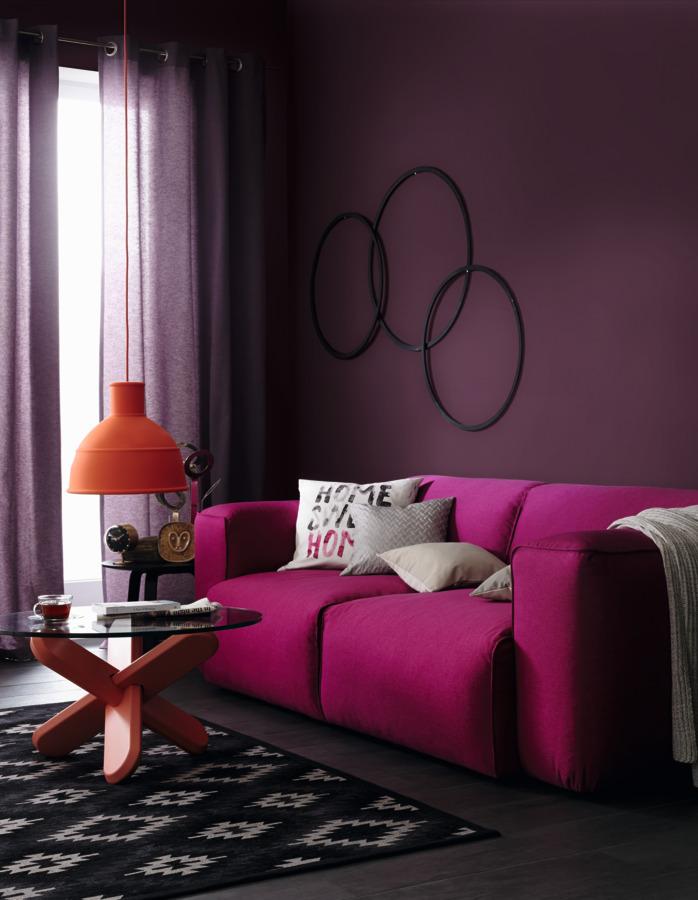 lounge sch ner wohnen farbe. Black Bedroom Furniture Sets. Home Design Ideas