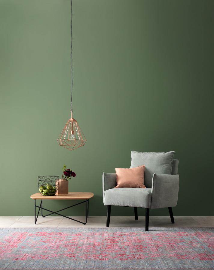 Schoner Wohnen Farbe Ausgeglichenes Piniengrun